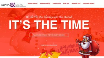 AlphaRacks Holiday Sale