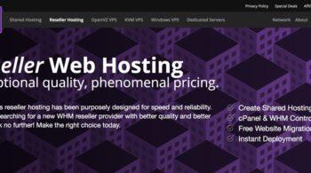 AlphaRacks Reseller Web Hosting