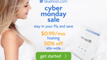 bluehost cyber monday 2013