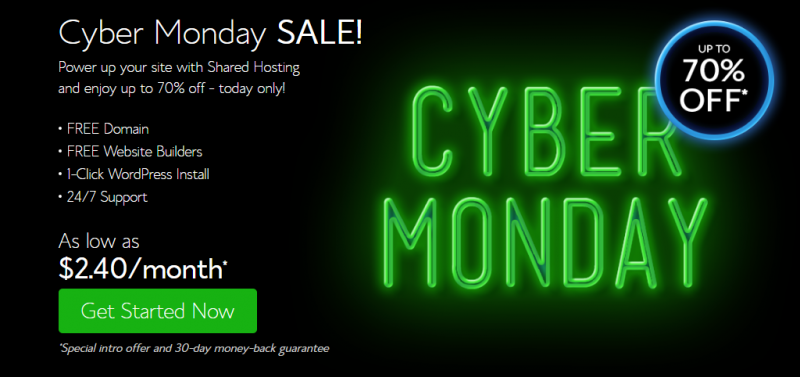 bluehost-cyber-monday-special