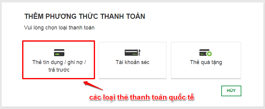 chon loai the