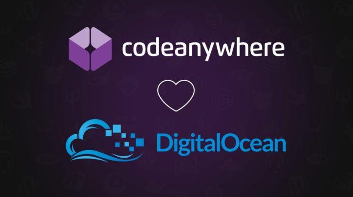 Codeanywhere DigitalOcean