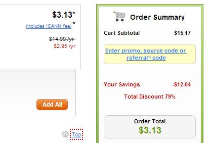 Coupon 2.95$ mới nhất