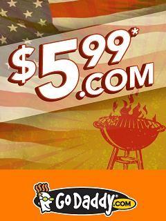coupon 5.99 godaddy