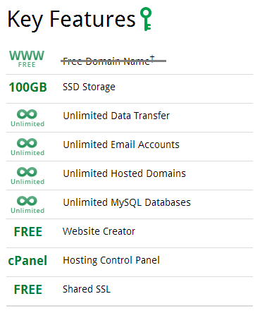 doteasy ssd hosting feature