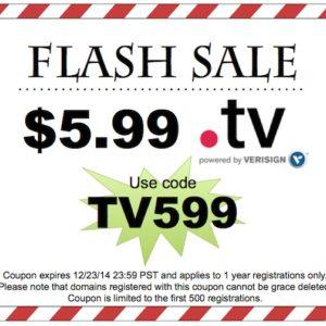 Dynadot Flash Sale domain tv
