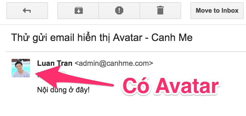 Email co Avatar