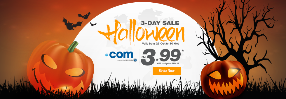 Exabytes MY Halloween Sale Com