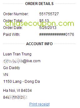 hoa don dang ky voi coupon 4.95