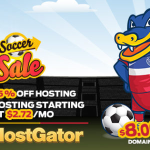 HostGator giam 45 hosting, domain 8$