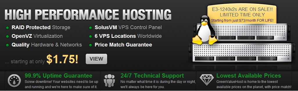 Hosting GreenValueHost