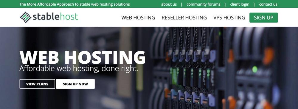 Hosting nen dung StableHost