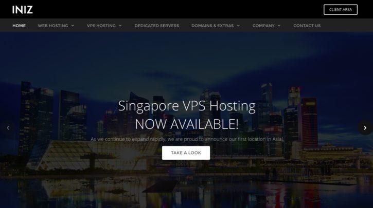 INIZ Singapore VPS
