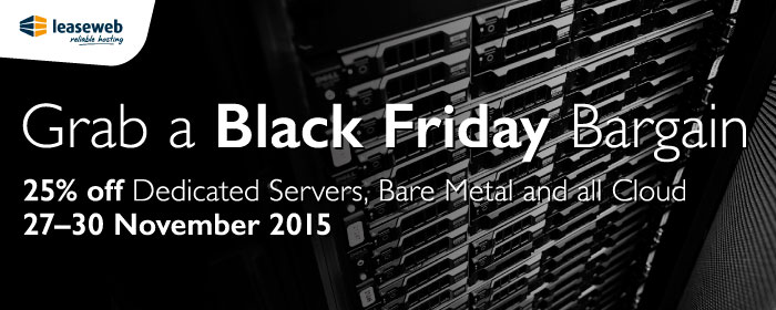 LeaseWeb Black Friday