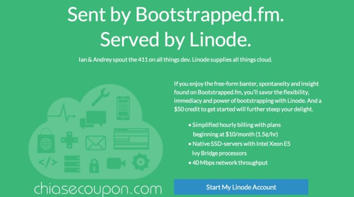 Linode Bootstrapped 50 Credit