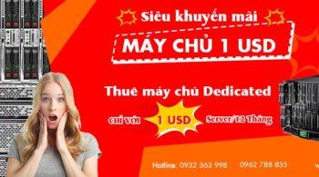 May chu 1 USD