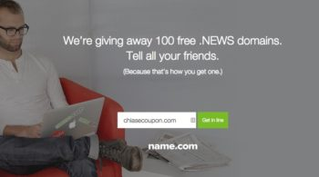 Name.com tang mien phi ten mien NEWS