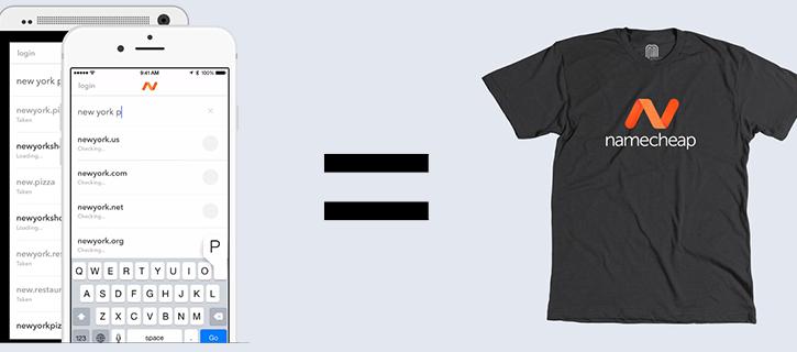 Namecheap T-shirt