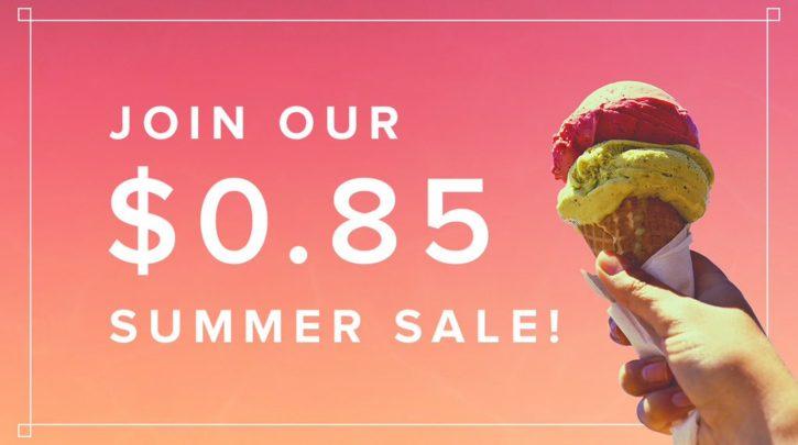 Summer Sale Uniregistry 0.85 usd domains