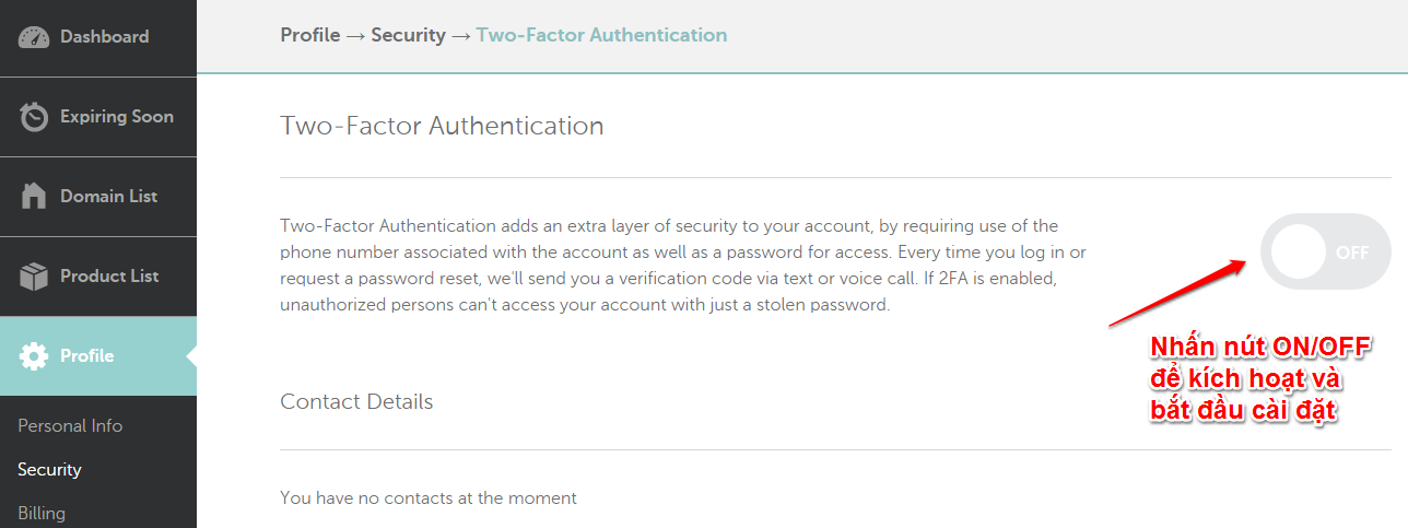 Two Factor Authentication 1