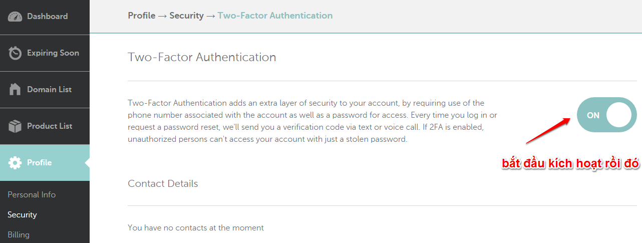 Two Factor Authentication 2