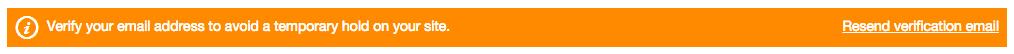 Verify email address GoDaddy