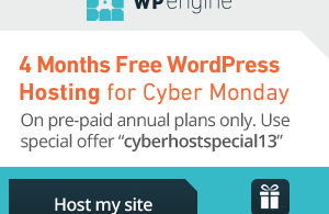 wp engine black friday cyber monday